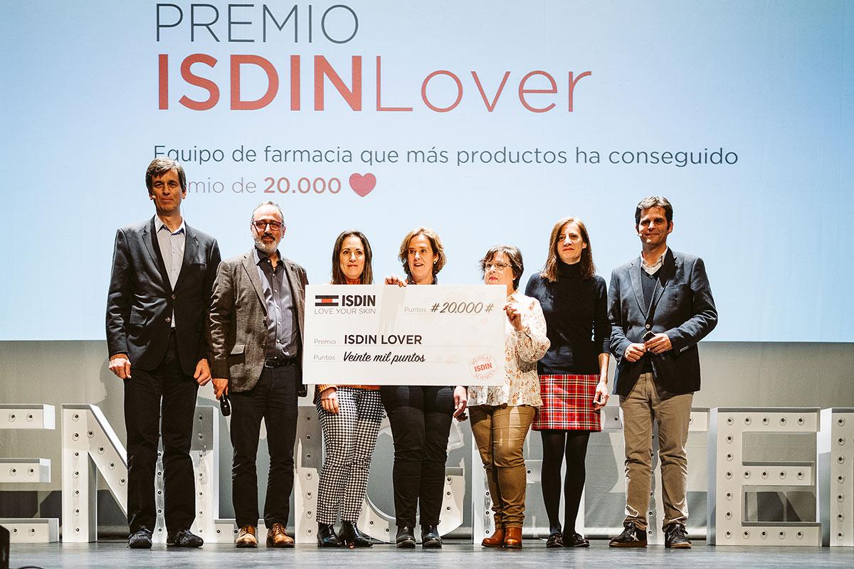 Premios Isdin lover