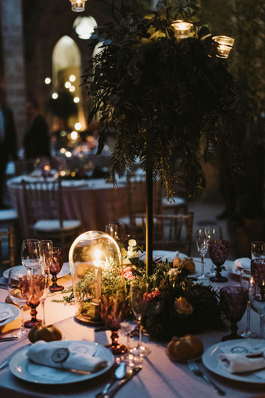 detalles mesa cena bodas