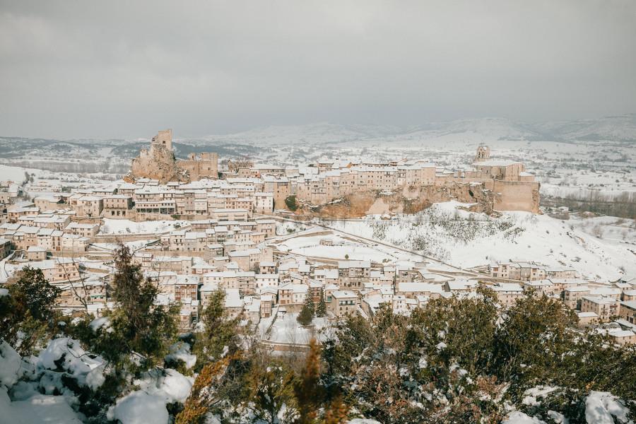 Invierno en la Ciudad de Frías