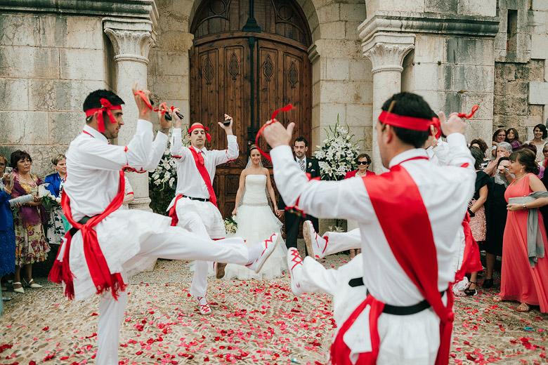 Danzadores en Frías Burgos