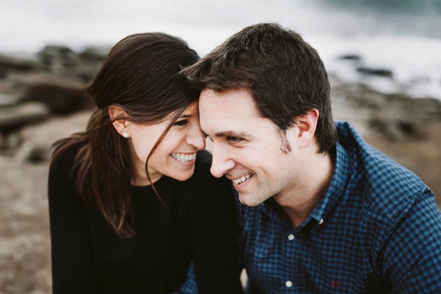 Sesión de pareja en Playa Azkorri