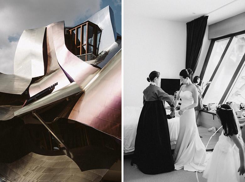 boda en marques de riscal