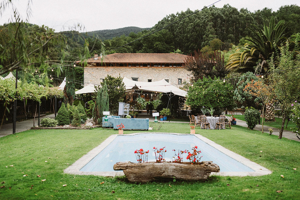 Boda en Jardín de Barretaguren