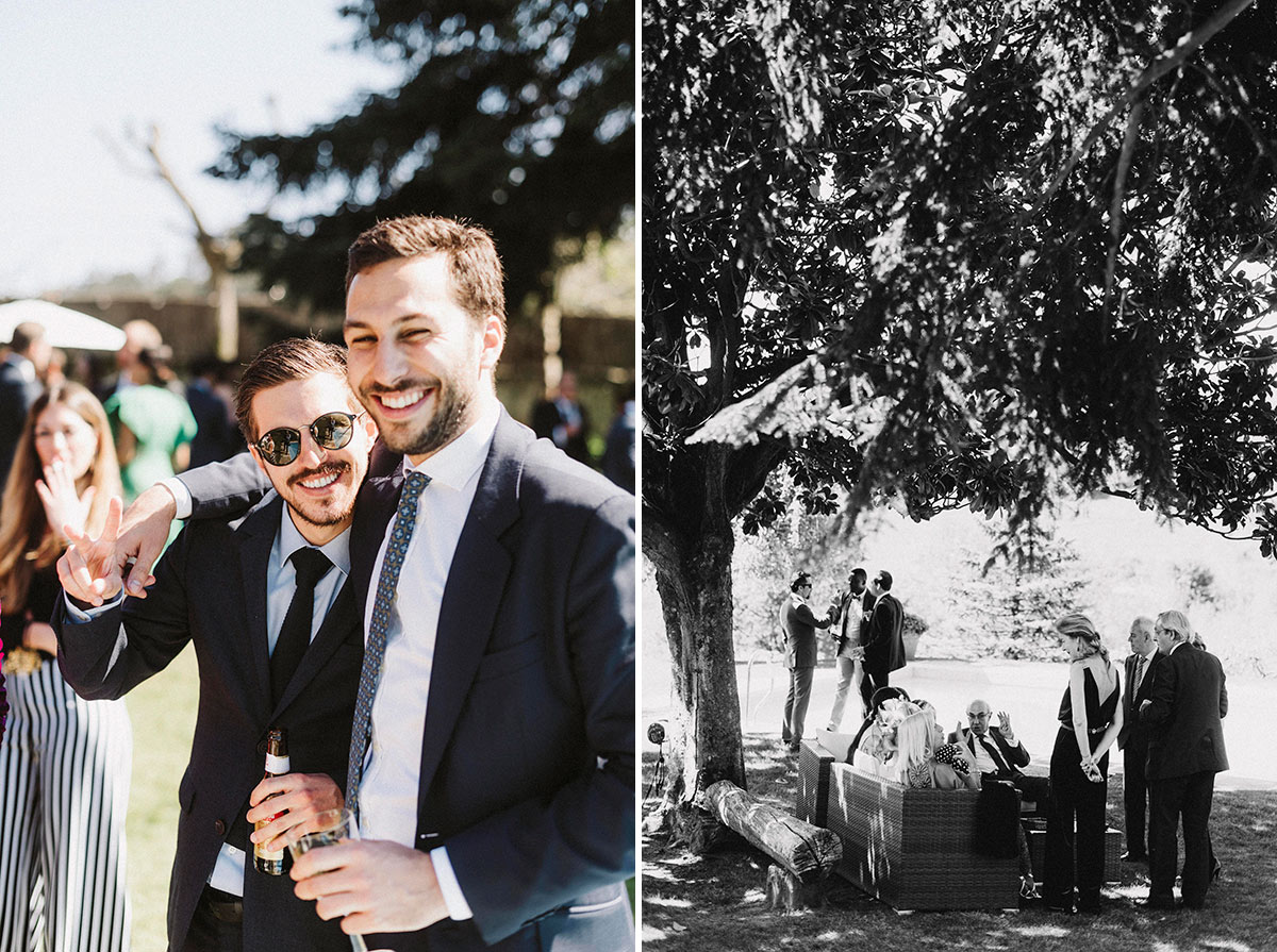 momentos coctel bodas