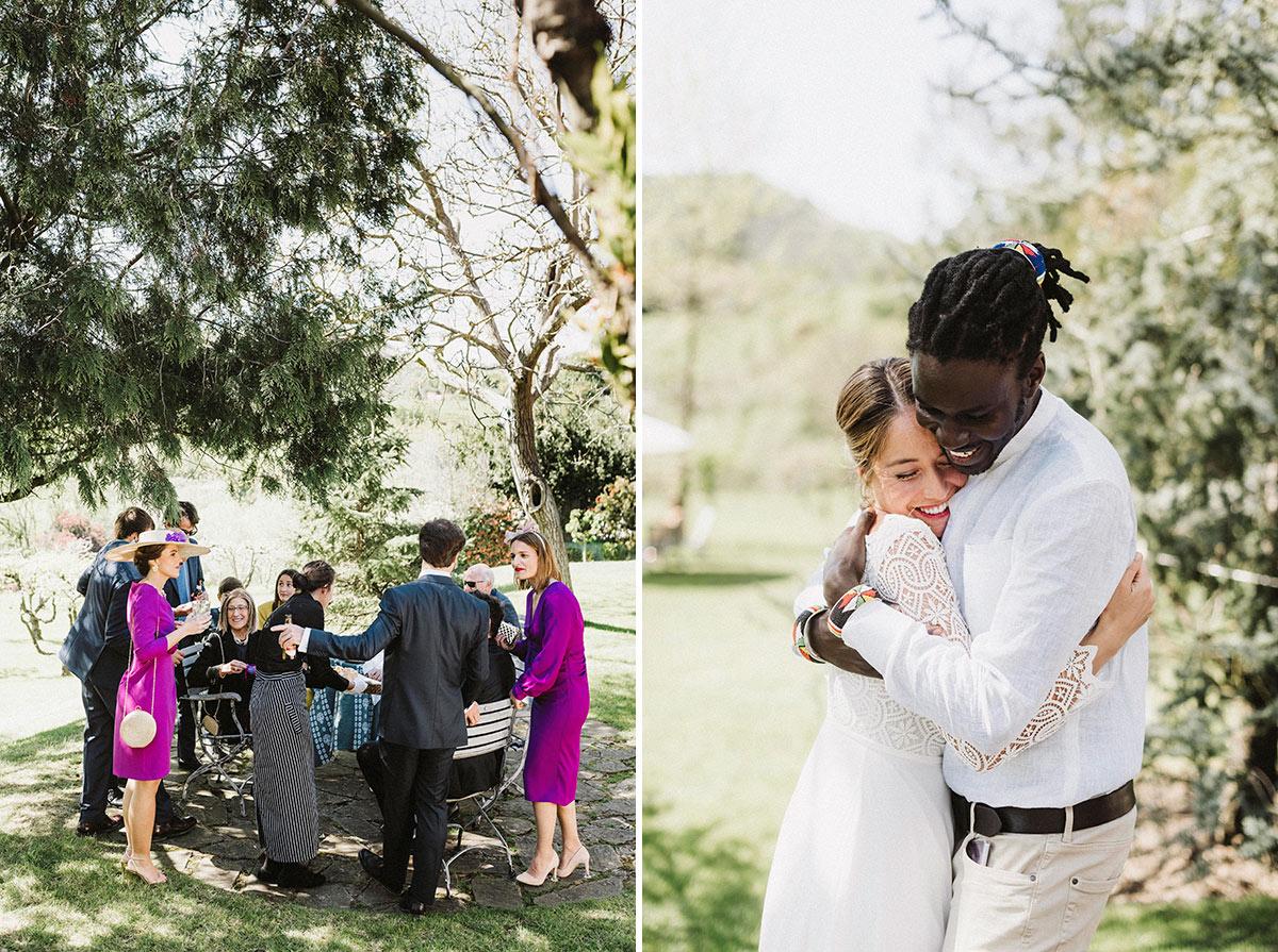 momentos coctel olagorta boda