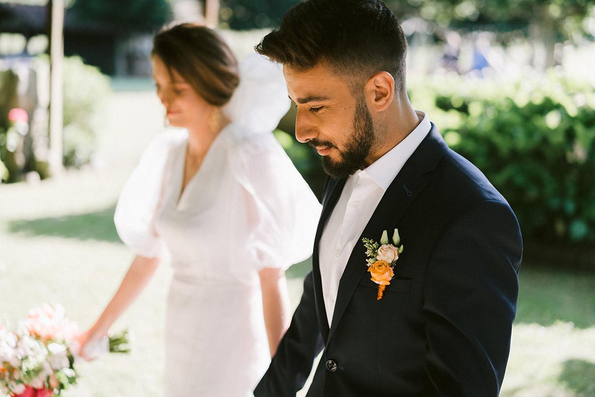 novios boda San Sebastián